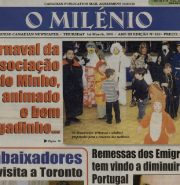 O MILENIO: 2001/03/01 Issue 120