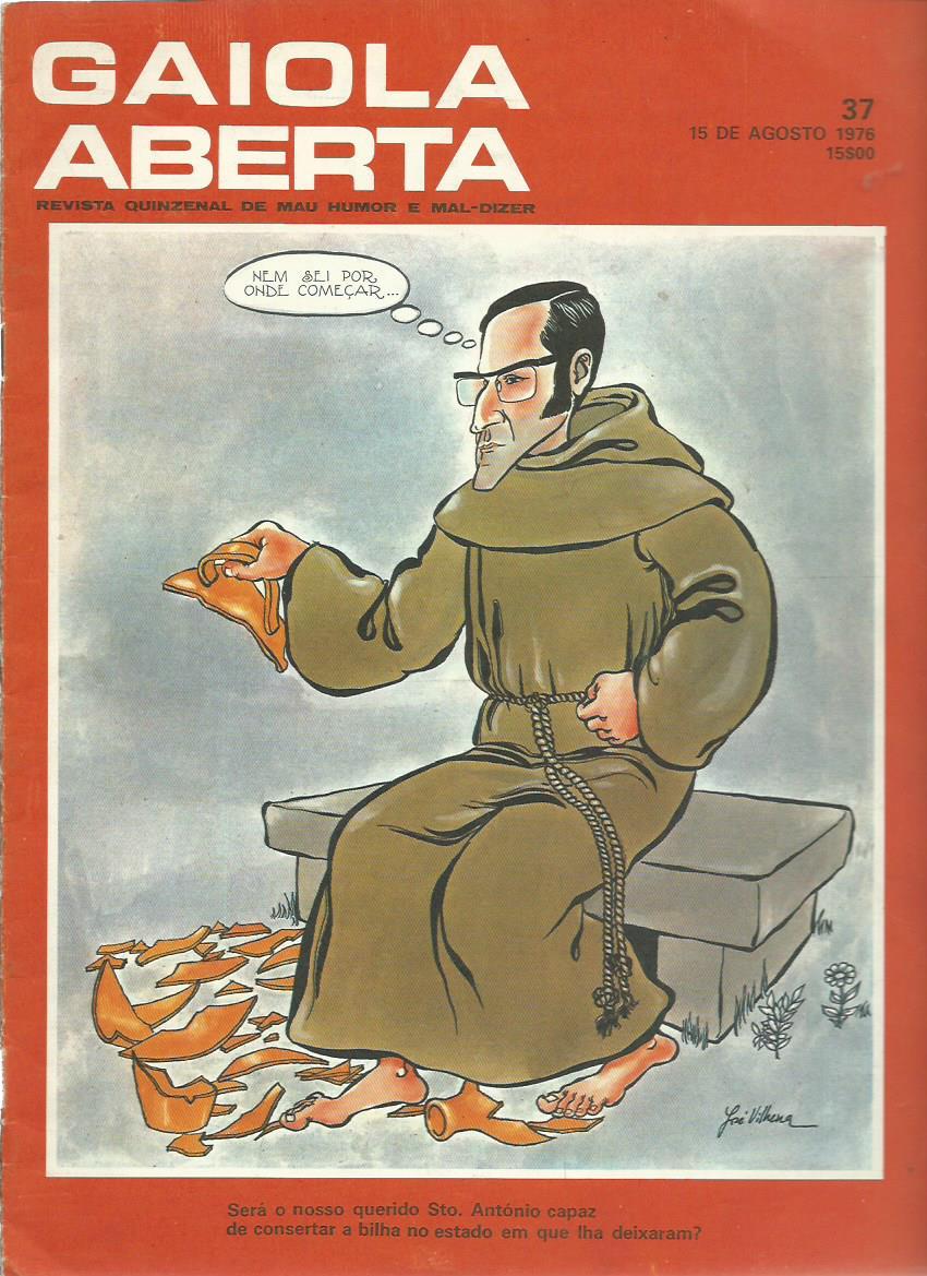 GAIOLA ABERTA: 15/08/1976 Issue 37