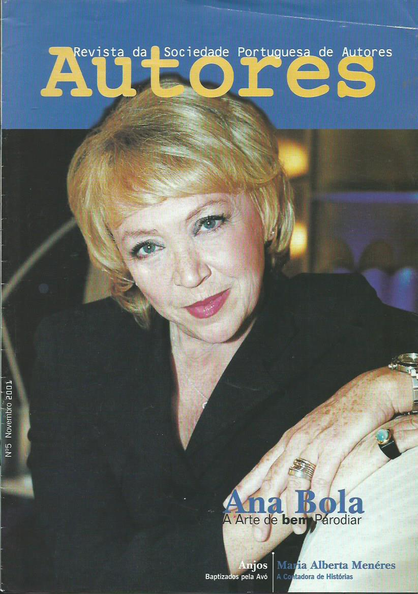 AUTORES (NEW SERIES): November 2001 Issue 5