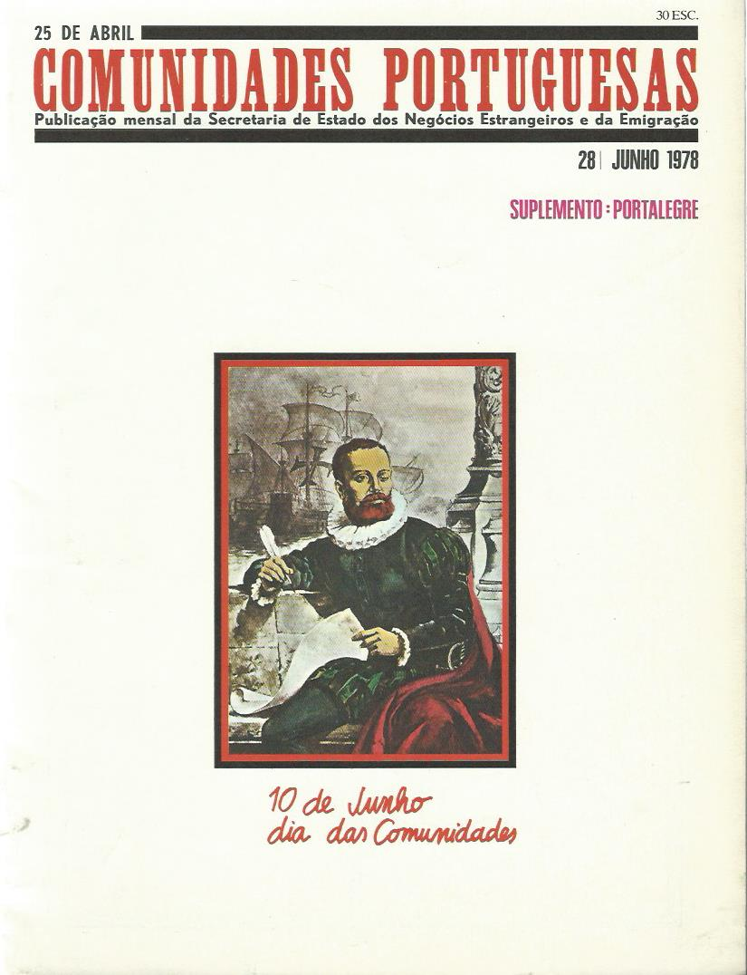 25 DE ABRIL (COMUNIDADES PORTUGUESAS): June 1978 Issue 28