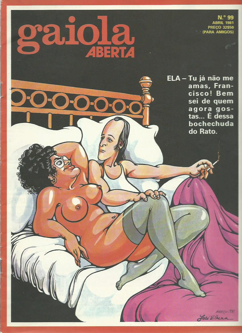 GAIOLA ABERTA: April 1981 Issue 99