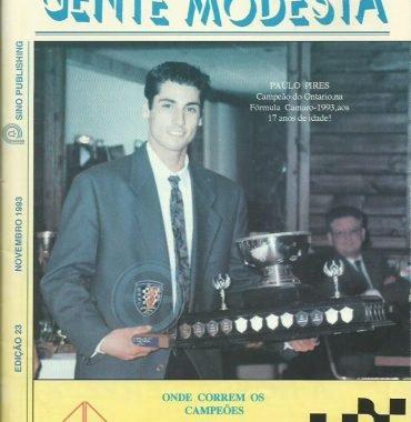 GENTE MODESTA: November 1993 Issue 23