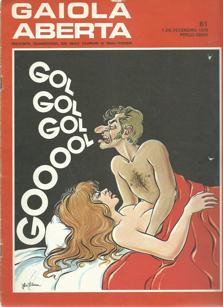 GAIOLA ABERTA: 01/02/1978 Issue 61