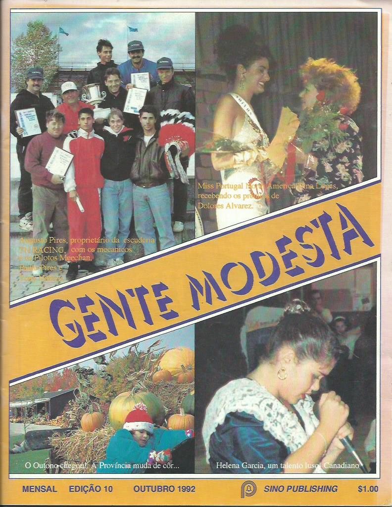 GENTE MODESTA: October 1992 Issue 10