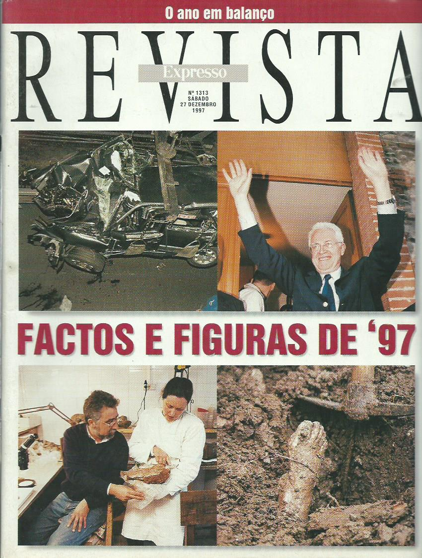 REVISTA EXPRESSO: 27/12/1997 Issue 1313
