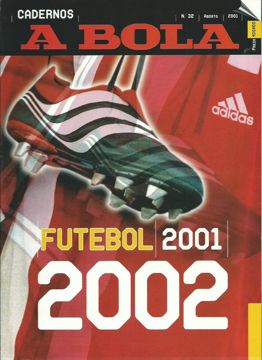A BOLA (Cadernos): August 2001 Issue 32