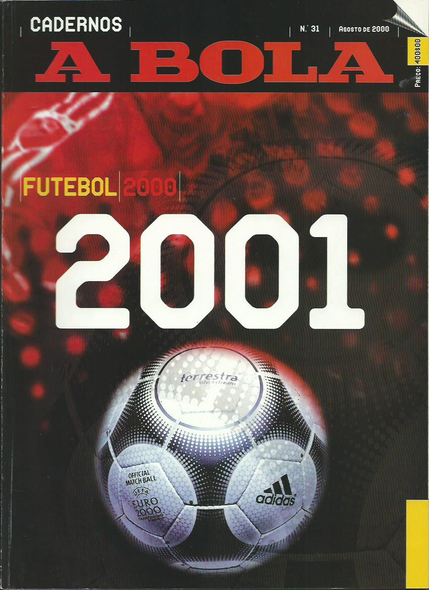 A BOLA (Cadernos): August 2000 Issue 31