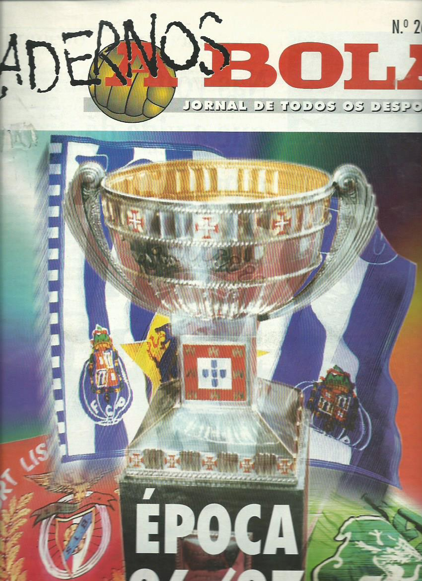 A BOLA (CADERNOS): August 1996 Issue 26