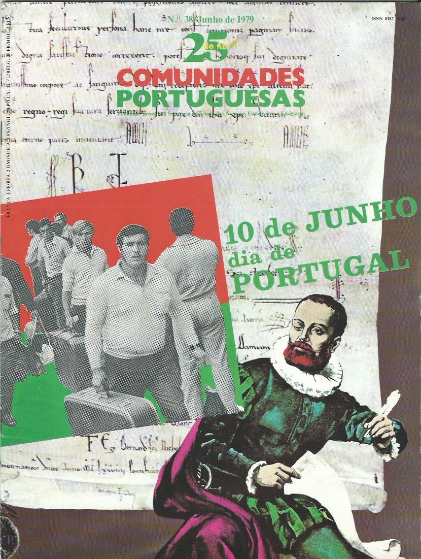 25 DE ABRIL (COMUNIDADES PORTUGUESAS): June 1979 Issue 38