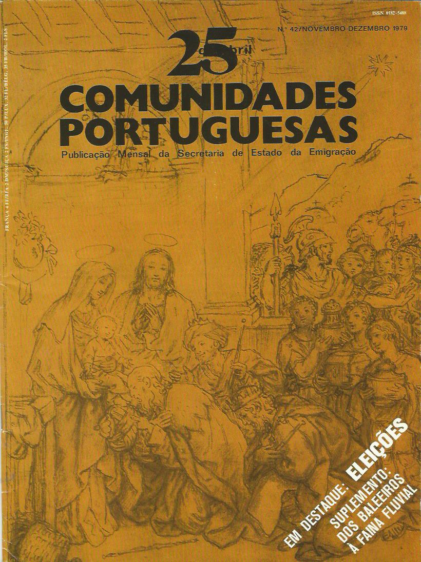 25 DE ABRIL (COMUNIDADES PORTUGUESAS): November–December 1979 Issue 42