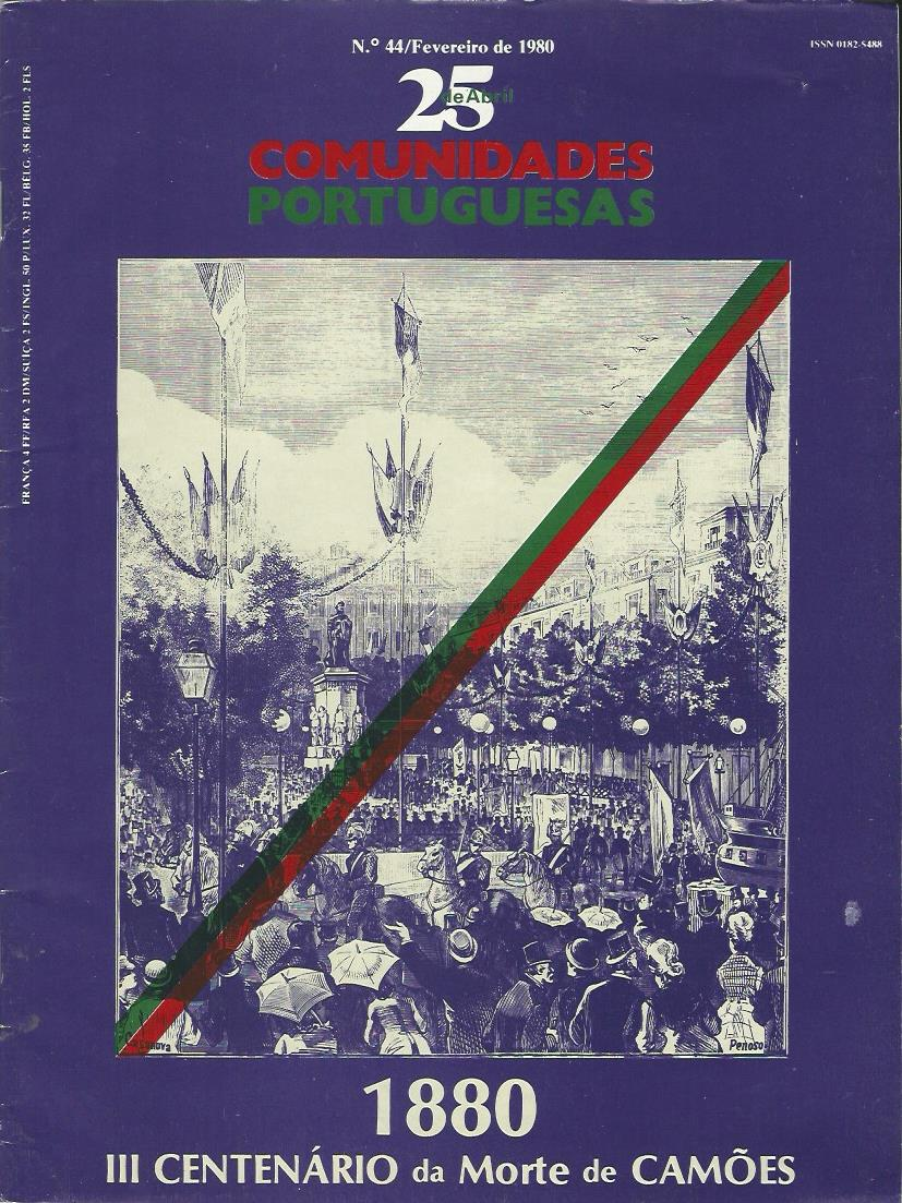25 DE ABRIL (COMUNIDADES PORTUGUESAS): February 1980 Issue 44