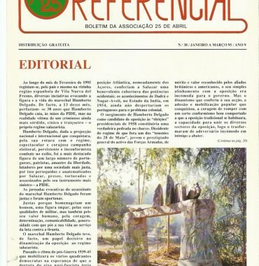 REFERENCIAL: January–March 1995 Issue 38