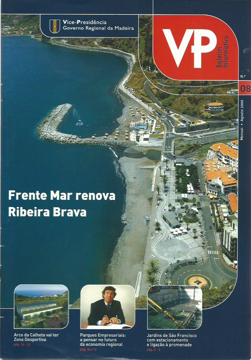 VP BOLETIM INFORMATIVO (MADERIA): August 2006 Issue 8