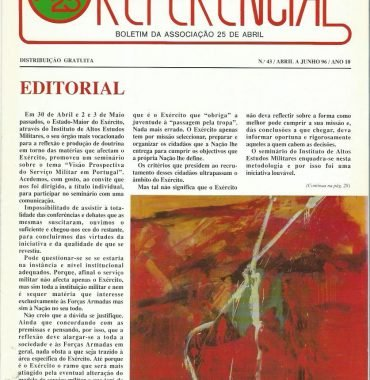 REFERENCIAL: April–June 1996 Issue 43