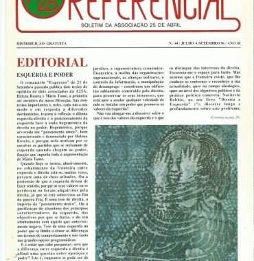 REFERENCIAL: July–September 1996 Issue 44