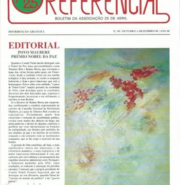 REFERENCIAL: October–December 1996 Issue 45