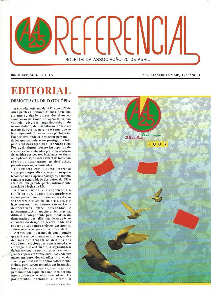 REFERENCIAL: January–March 1997 Issue 46