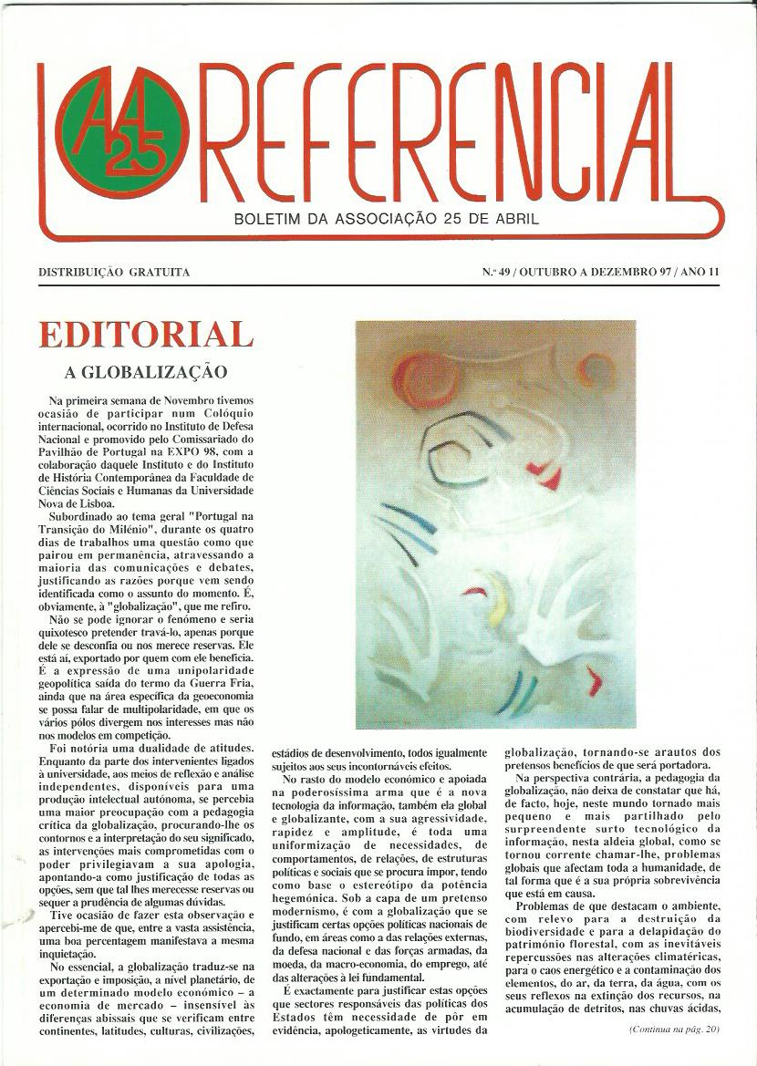 REFERENCIAL: October–December 1997 Issue 49