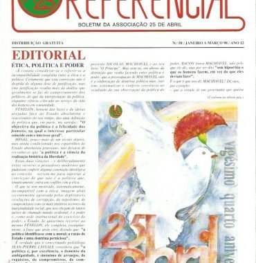REFERENCIAL: January–March 1998 Issue 50