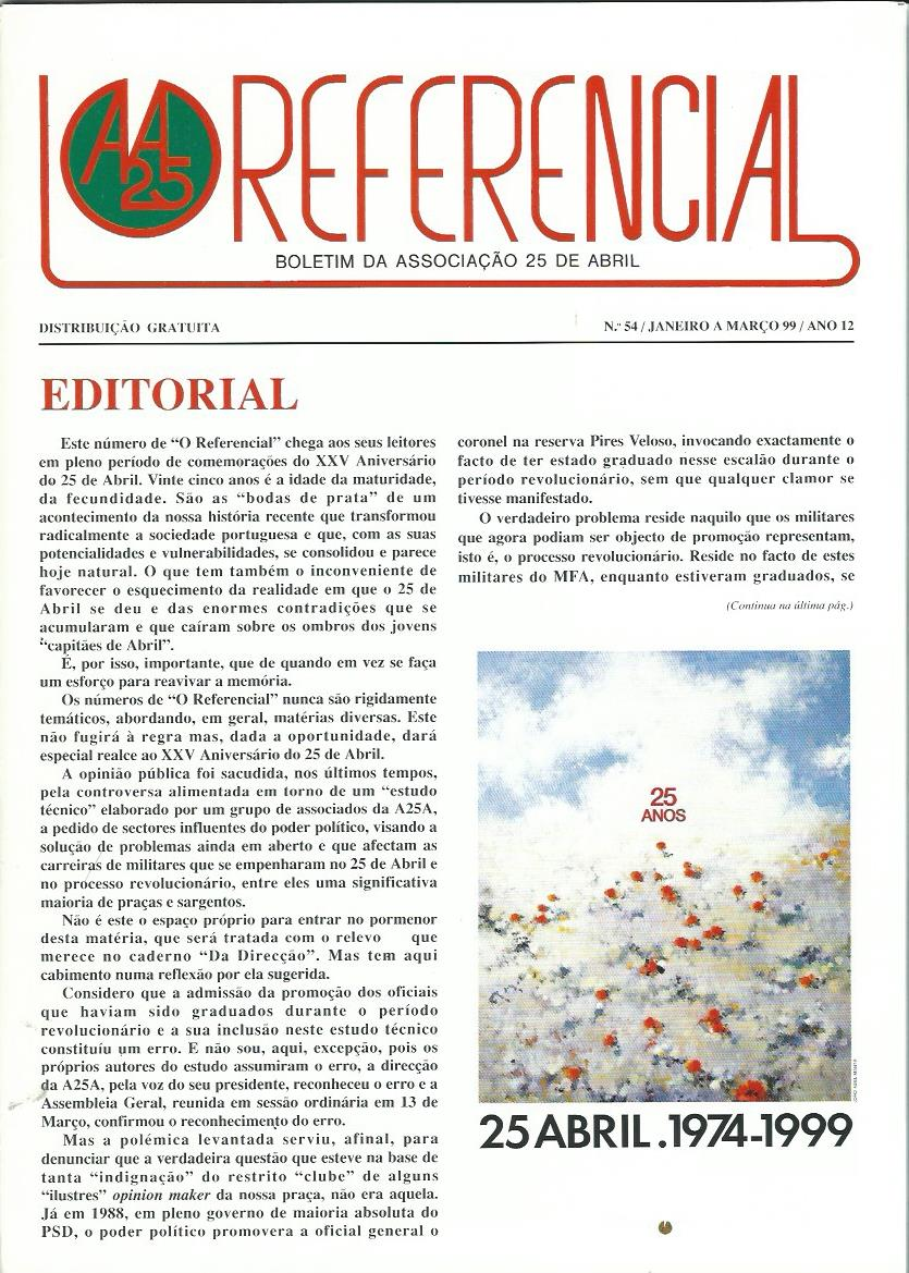 REFERENCIAL: January–March 1999 Issue 54