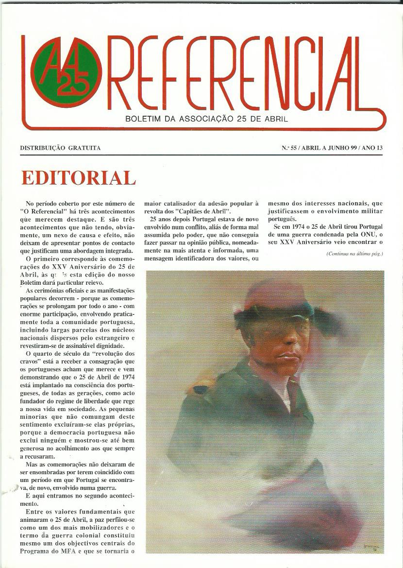 REFERENCIAL: April–June 1999 Issue 55