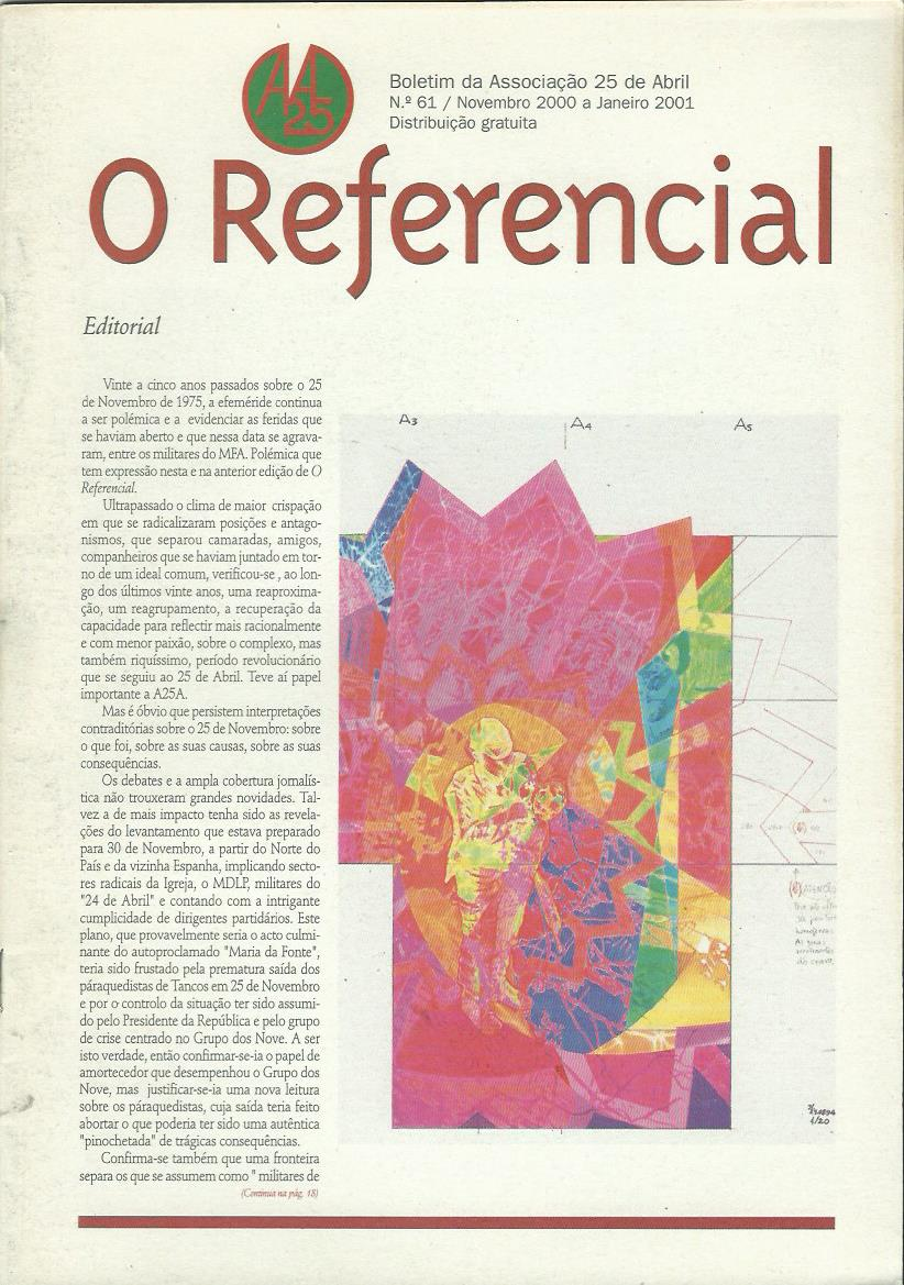 REFERENCIAL: November 2000–January 2001 Issue 61