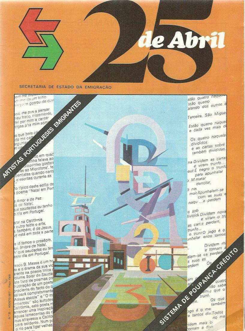 25 DE ABRIL: August 1977 Issue 20