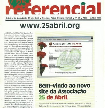 REFERENCIAL: April–June 2003 Issue 71