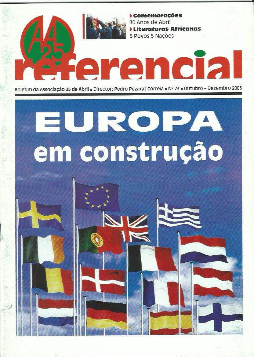 REFERENCIAL: October–December 2003 Issue 73