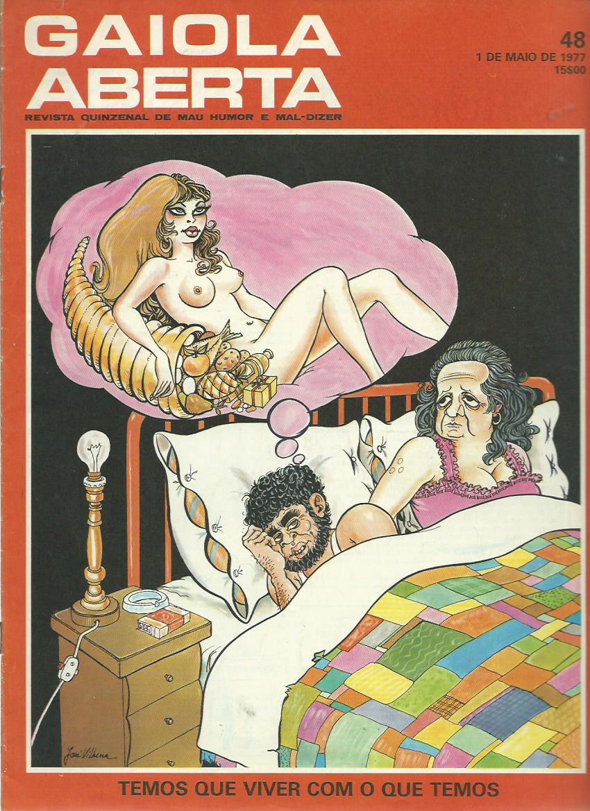 GAIOLA ABERTA: 01/05/1977 Issue 48