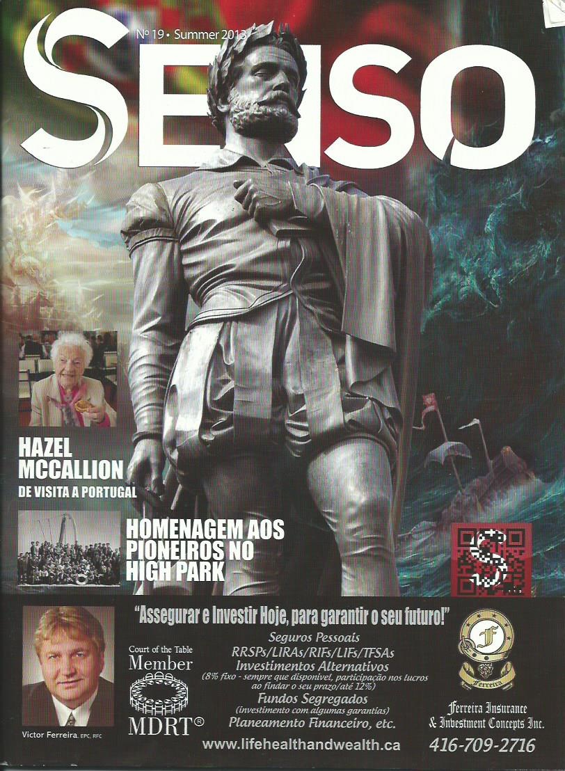 SENSO: Summer 2013 Issue 19