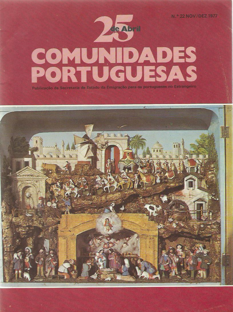 25 DE ABRIL (COMUNIDADES PORTUGUESAS): November–December 1977 Issue 22