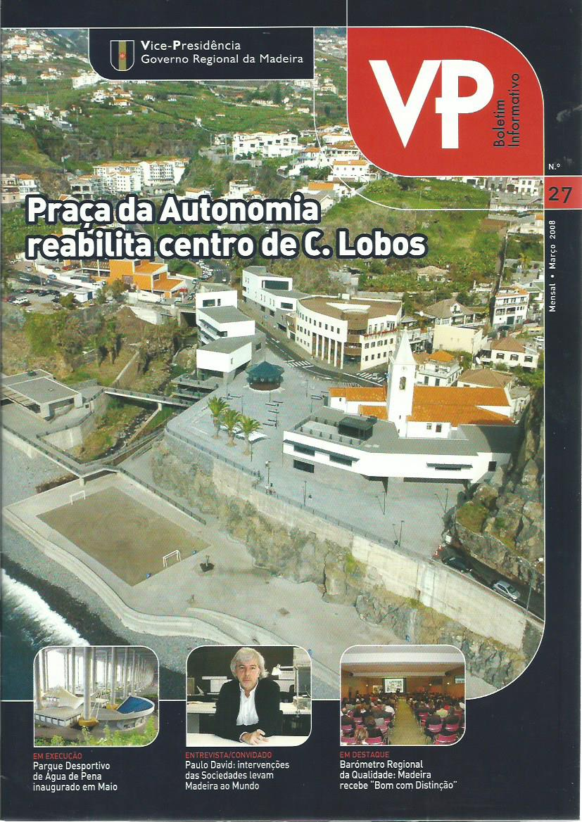 VP BOLETIM INFORMATIVO (MADERIA): March 2008 Issue 27