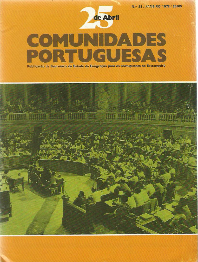 25 DE ABRIL (COMUNIDADES PORTUGUESAS): January 1978 Issue 23