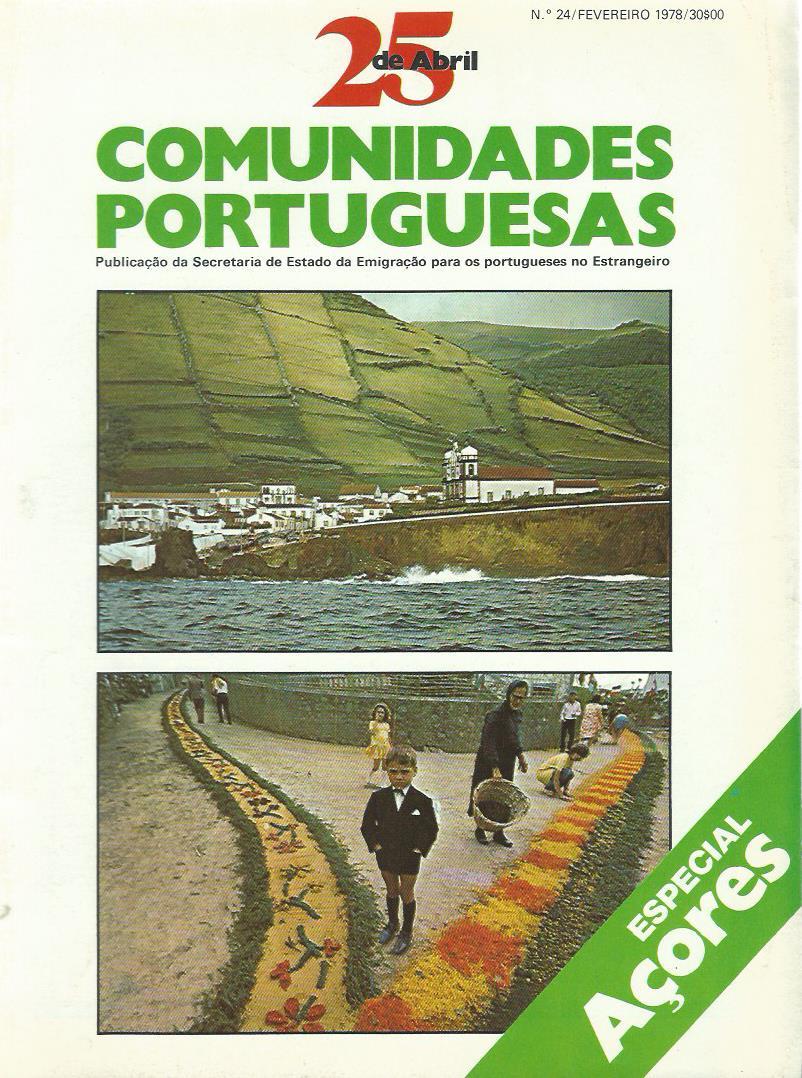 25 DE ABRIL (COMUNIDADES PORTUGUESAS): February 1978 Issue 24