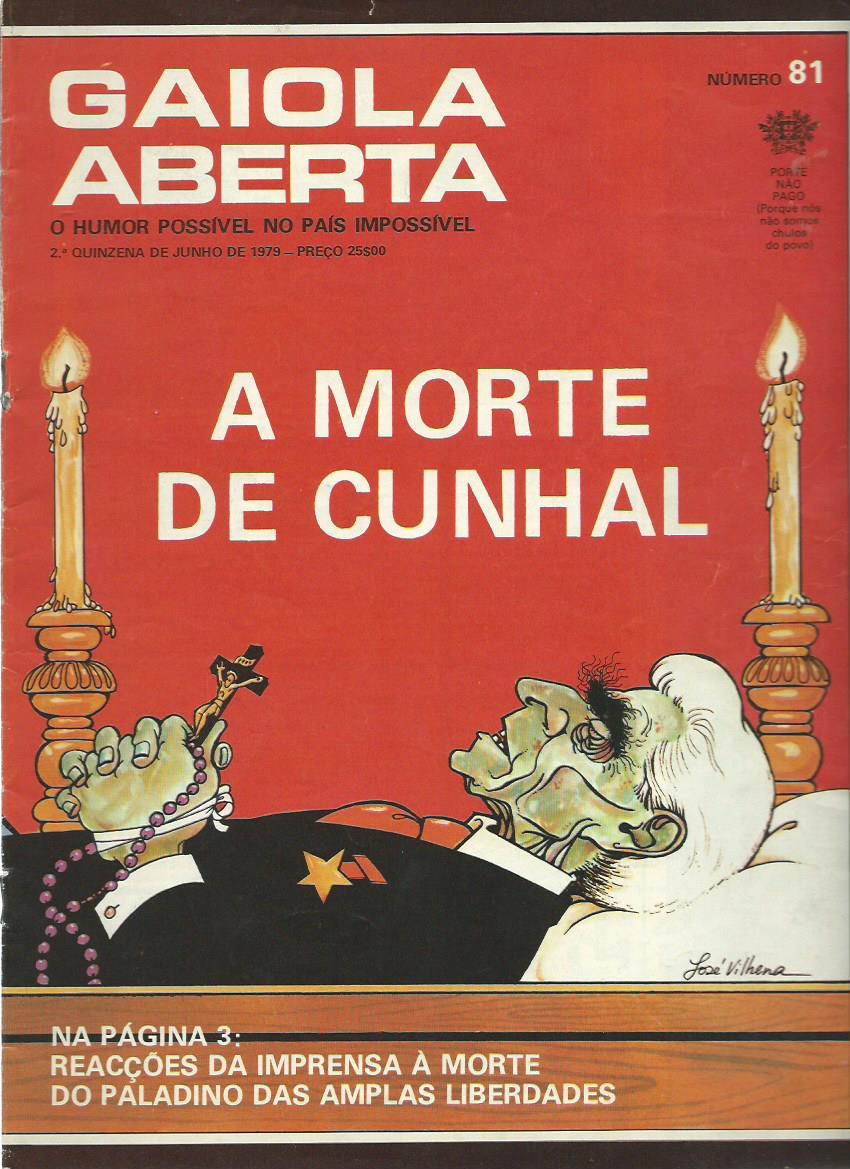 GAIOLA ABERTA: July 1979 Issue 81