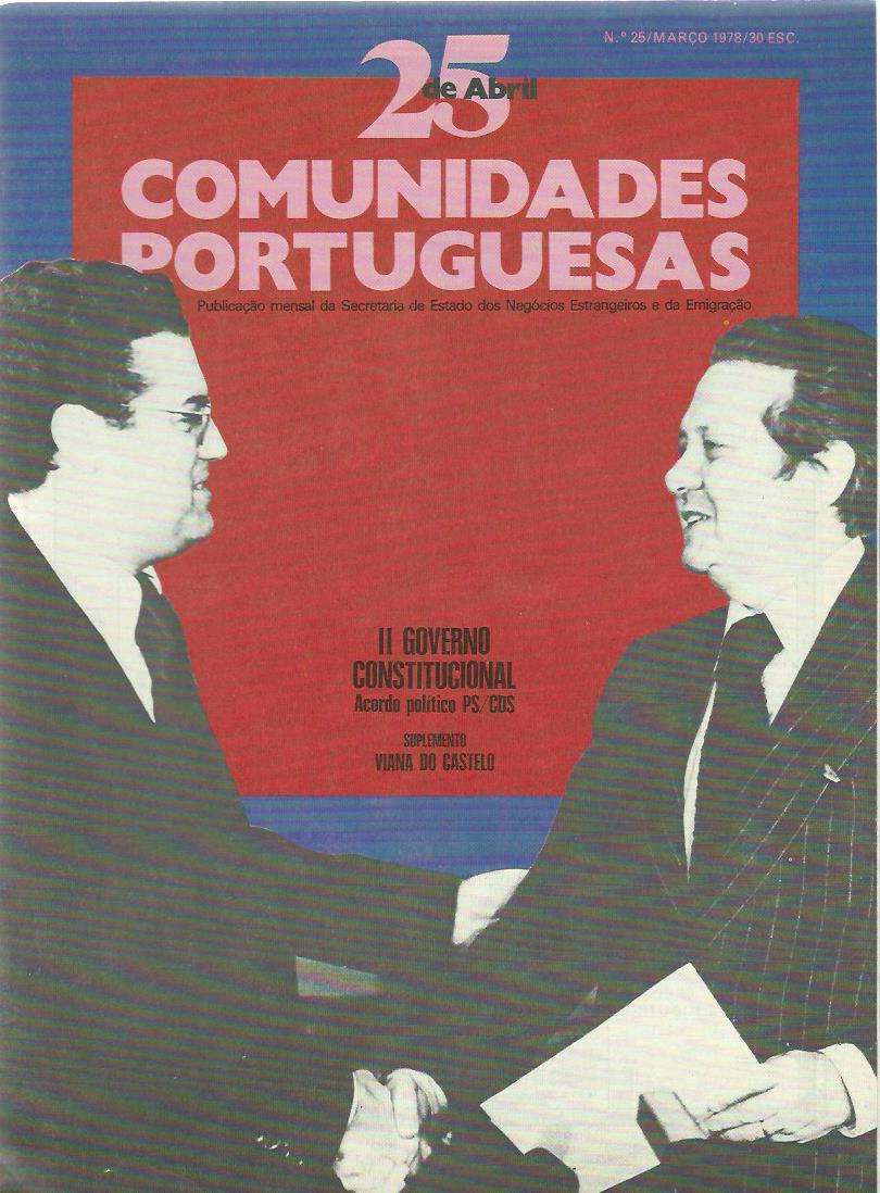 25 DE ABRIL (COMUNIDADES PORTUGUESAS): March 1978 Issue 25