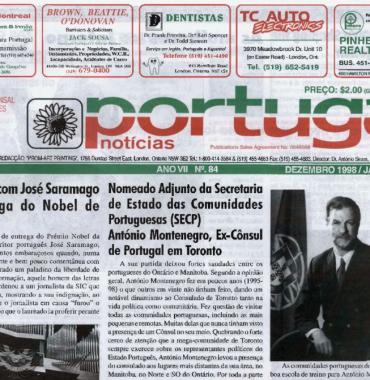 PORTUGAL NEWS: Dec–Jan 1998–9 Issue 84