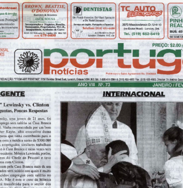 PORTUGAL NEWS: Jan–Feb 1998 Issue 73