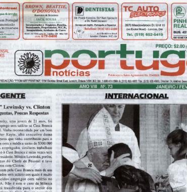 PORTUGAL NEWS: Jan–Feb 1998 Issue 73
