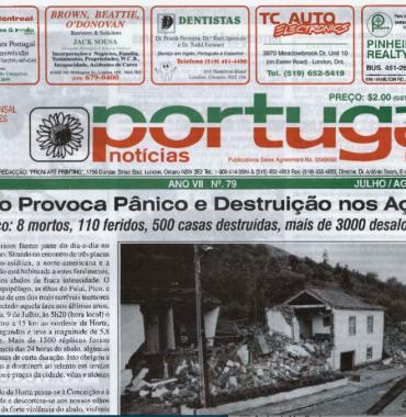 PORTUGAL NEWS: Jul–Aug 1998 Issue 79