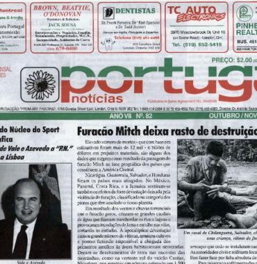 PORTUGAL NEWS: Oct–Nov 1998 Issue 82