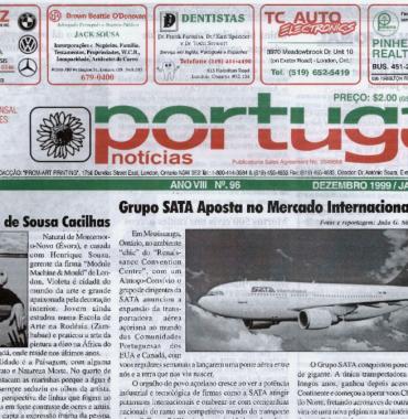 PORTUGAL NEWS: Dec–Jan 1999–2000 Issue 96