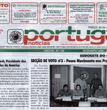 PORTUGAL NEWS: Dec–Jan 2000–1 Issue 108