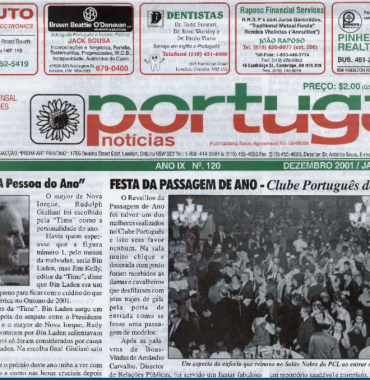 PORTUGAL NEWS: Dec–Jan 2001–2 Issue 120