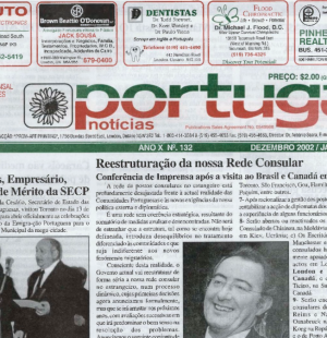 PORTUGAL NEWS: Dec–Jan 2002–3 Issue 132