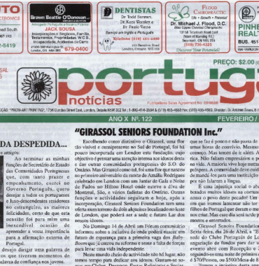 PORTUGAL NEWS: Feb–Mar 2002 Issue 122