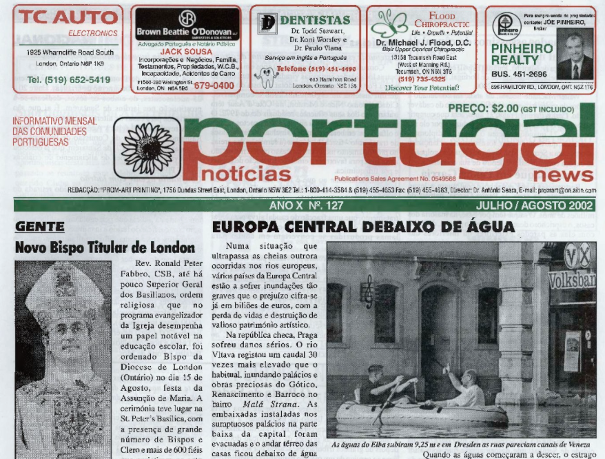 PORTUGAL NEWS: Jul–Aug 2002 Issue 127