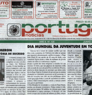 PORTUGAL NEWS: Jun–Jul 2002 Issue 126