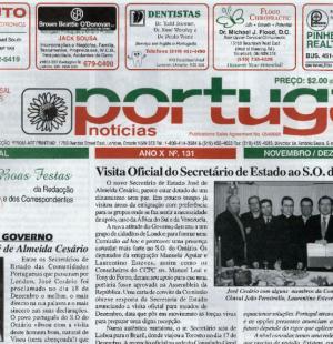 PORTUGAL NEWS: Nov–Dec 2002 Issue 131